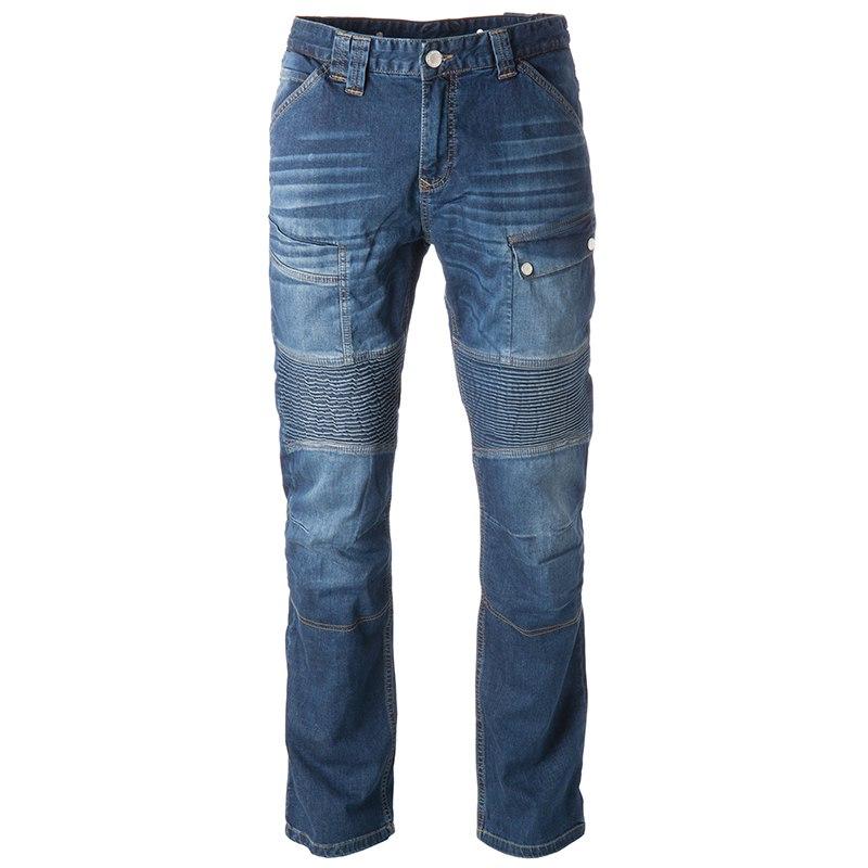 Jeans moto Overlap Road Smalt con Kevlar