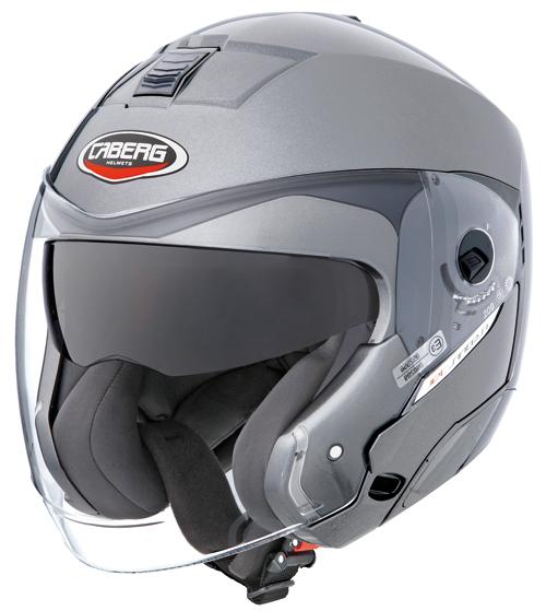 Casco moto Caberg Jet Sintesi gunmetal