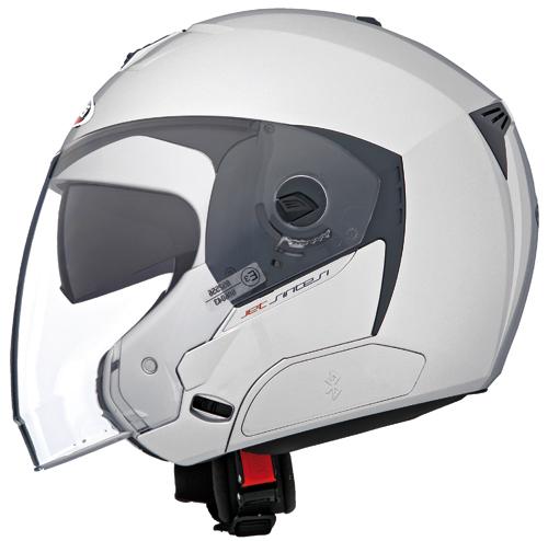 CABERG Jet Sintesi jet helmet col. silver
