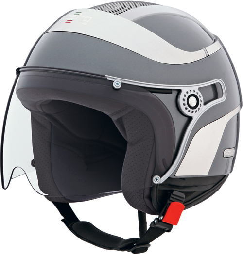 CABERG Jet Uno jet helmet col. gunmetal