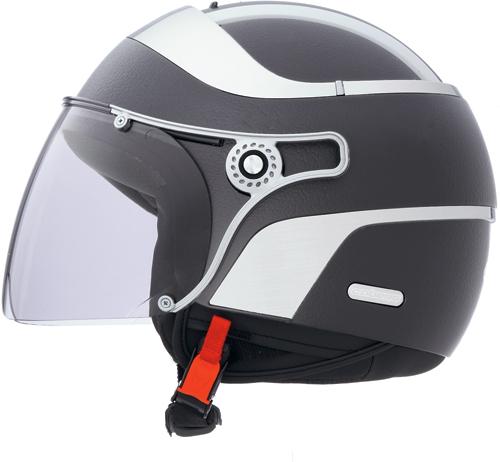CABERG Jet Uno jet helmet col. matt black