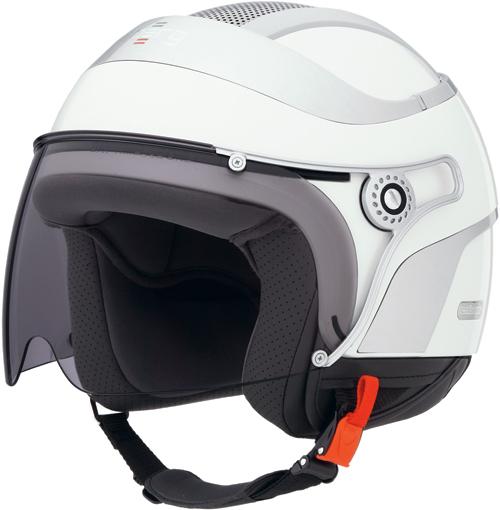 CABERG Jet Uno jet helmet col. pearl