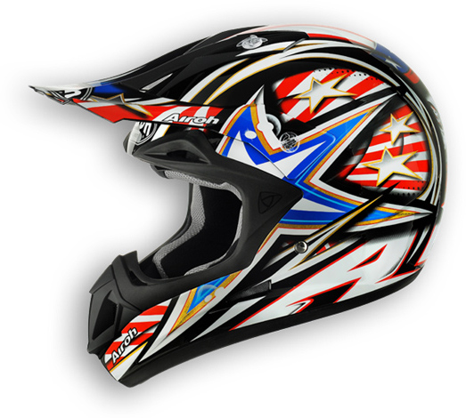 Off road motorcycle helmet Airoh Jumper I Want You