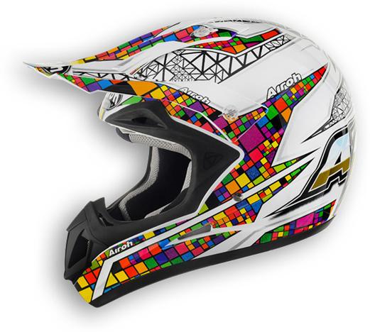 Casco moto off road Airoh Jumper Multicolor