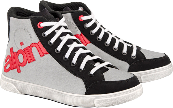 Alpinestars Joey Canvas shoes black-gray-red