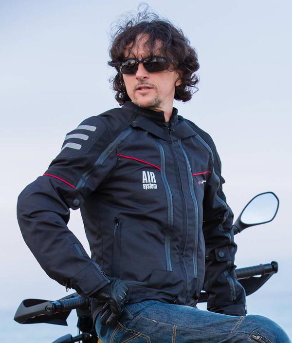 Giubbotto moto All Season Befast con Air System 4 stagioni