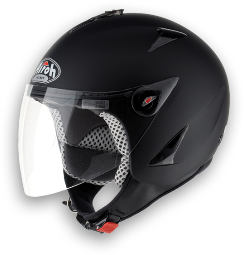 Airoh JT Color urban jet helmet black matt
