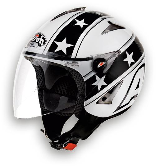 Airoh JT General urban jet helmet white gloss