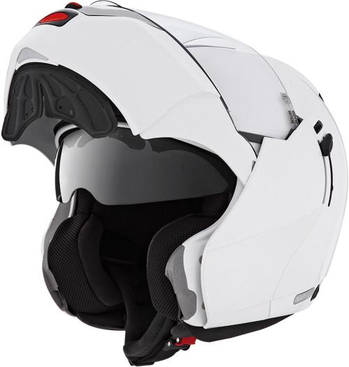 Casco moto Caberg Justissimo GT bianco