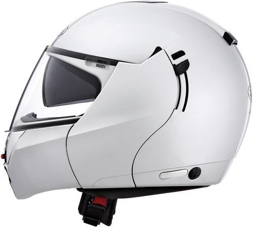 CABERG Justissimo GT flip-up helmet silver