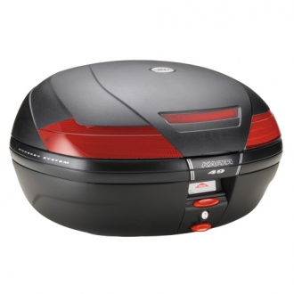 Kappa K49 Monokey System topcase embossed Black