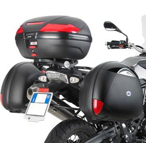 Specific rear plate for BMW K94M F650GS/F800GS for carriers MONO