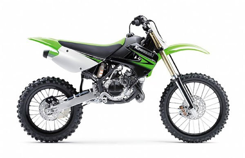 Kit plastiche moto Ufo Kawasaki KX 85cc 2010 VerdeFluoro
