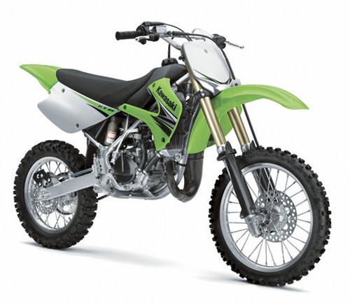 Kit plastiche moto Ufo Kawasaki Restiled KX 85cc 2013 Nero