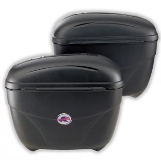 Kappa K21 couple of side cases Monokey Black