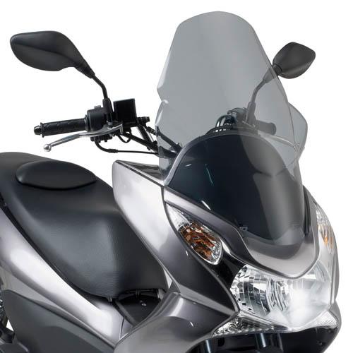 Smoked plexiglass KD322S specific for Honda PCX 125