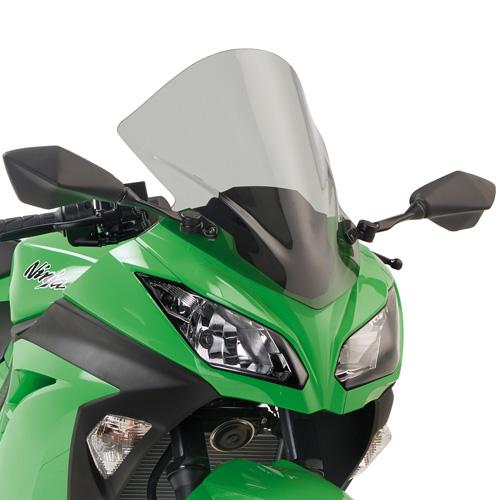 Windshield KD4108S for Kawasaki Ninja 300 smoked