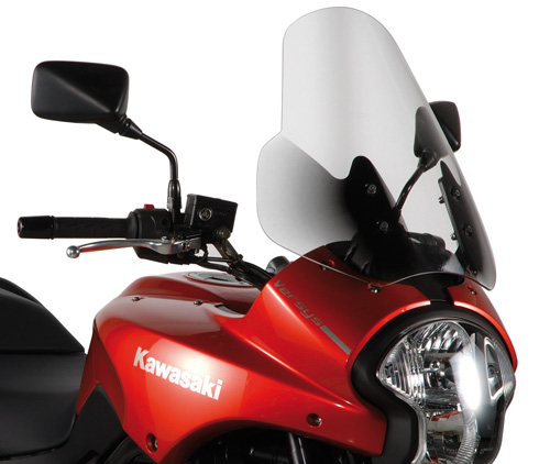 Windshield KD450ST specific for Kawasaki Versys 650 (06-09)