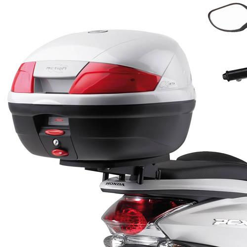 Attacco posteriore KE2310 per bauletto MONOLOCK per Honda PCX