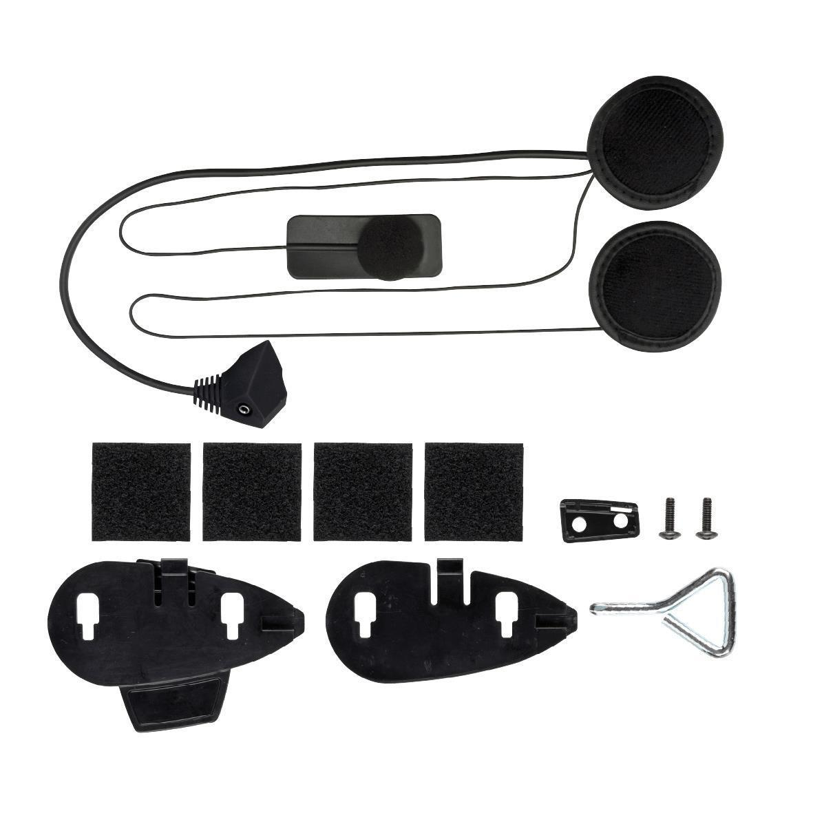 Kit casco integrale microfono mentoniera Cellular Line F5 Slim