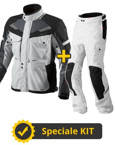 Kit Enterprise - Completo Giacca 4 stagioni + Pantaloni Rev'it