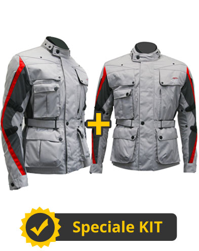 Kit FourClimath 2 - Giacca moto uomo + Giacca moto donna - Befast Four Climath