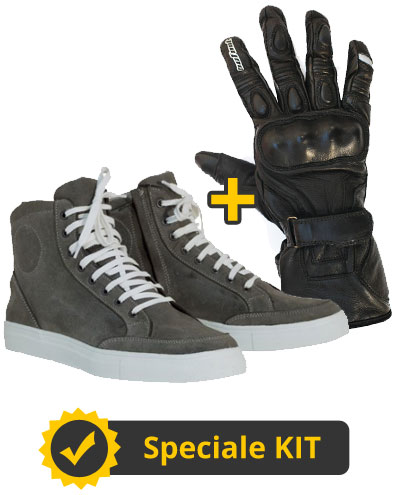 Kit Gloves and Shoes - Scarpe in pelle Prexport + Guanti in pelle Aries