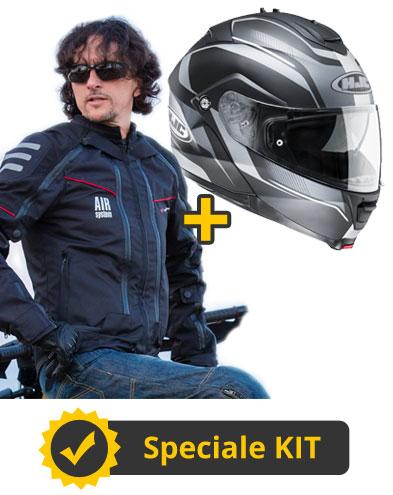 Kit Modular - Giacca 4 stagioni + Casco modulare