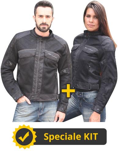 Kit Target 2 - Giacca estiva Uomo + Donna Befast Target