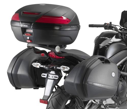 Portavaligie laterale KLX449 per Kawasaki ER6N/ER6F 650 per vali