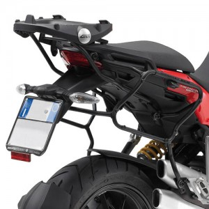KLXR312 side-case holder for Ducati Multistrada 1200 tubular