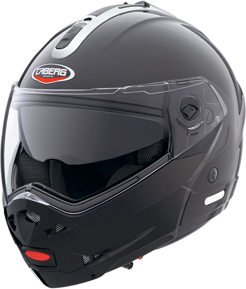 CABERG Konda Graphic open-face helmet col. metal black