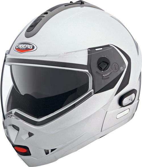 Casco moto Caberg Konda silver