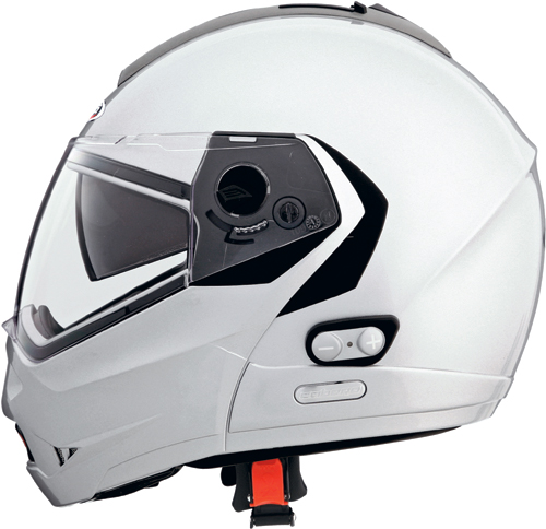CABERG Konda open-face helmet col. silver