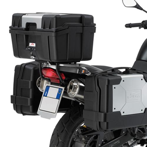 Portavaligia KR685 per BMW G 650 GS specifico per valigie MONOKE