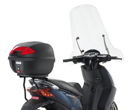 Attacco posteriore KR740 per bauletti MONOLOCK® per Aprilia