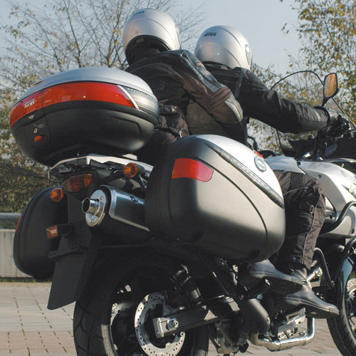 Portavaligia KRA5105 per BMW C600 Sport (12) specifico in allumi