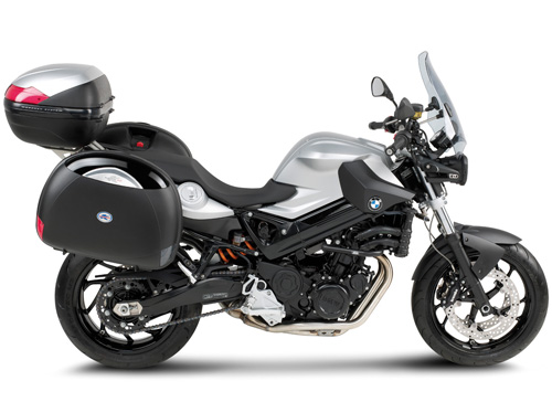 Specific plate KRA691 for BMW F800R aluminum for val
