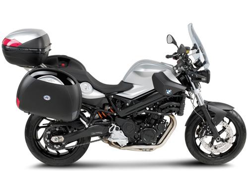 Portavaligia specifico KRA691 per BMW F800R in alluminio per val