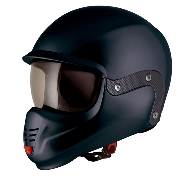 Suomy 3LOGY modular helmet double omologation p-J matt Black