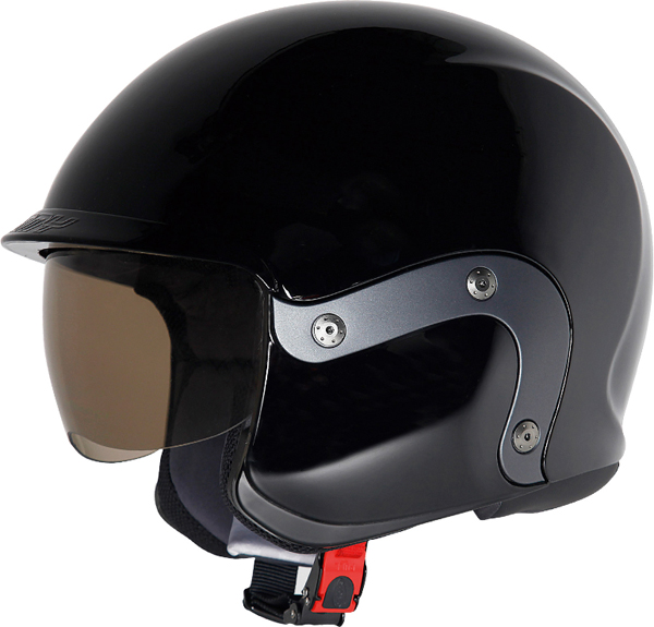 Suomy 3LOGY modular helmet double omologation p-J black