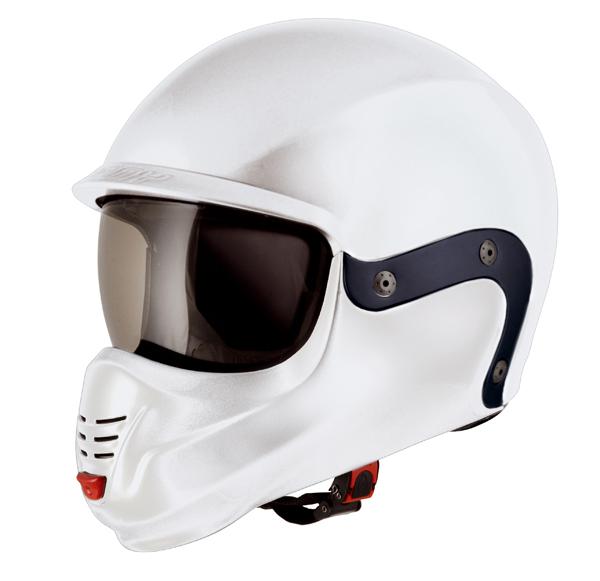Suomy 3LOGY modular helmet double omologation p-J white