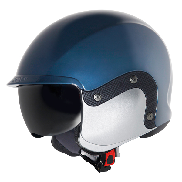 Suomy 3LOGY modular helmet double omologation p-J blue