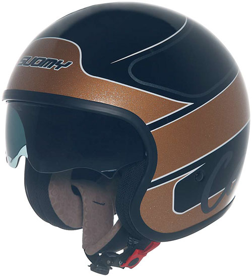Suomy Jet 70's Gold Cafè jet helmet