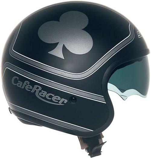 Suomy Jet 70's Trifolium Cafe jet helmet