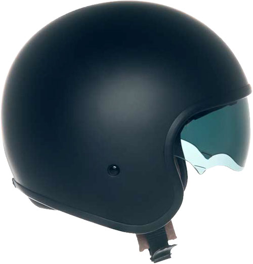 Suomy Jet 70's Plain jet helmet black matt