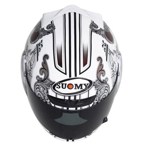 Casco moto Suomy Apex White  Angel