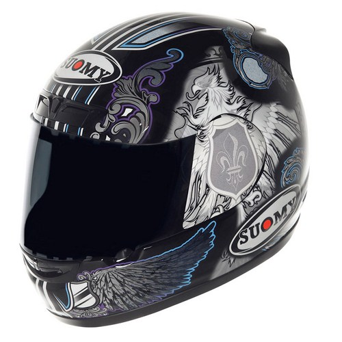 Casco moto Suomy Apex Black Angel