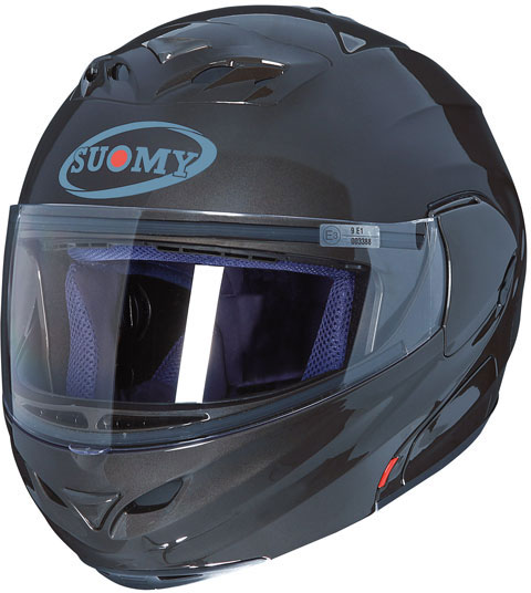 Casco moto modulare Suomy D20 Plain antracite