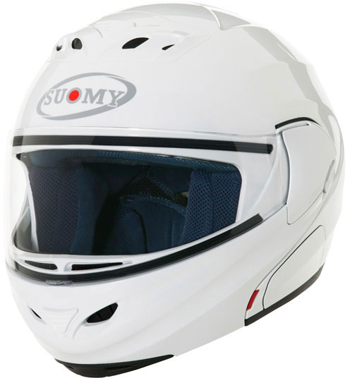 SUOMY D20 Plain Helmet - Col. bianco